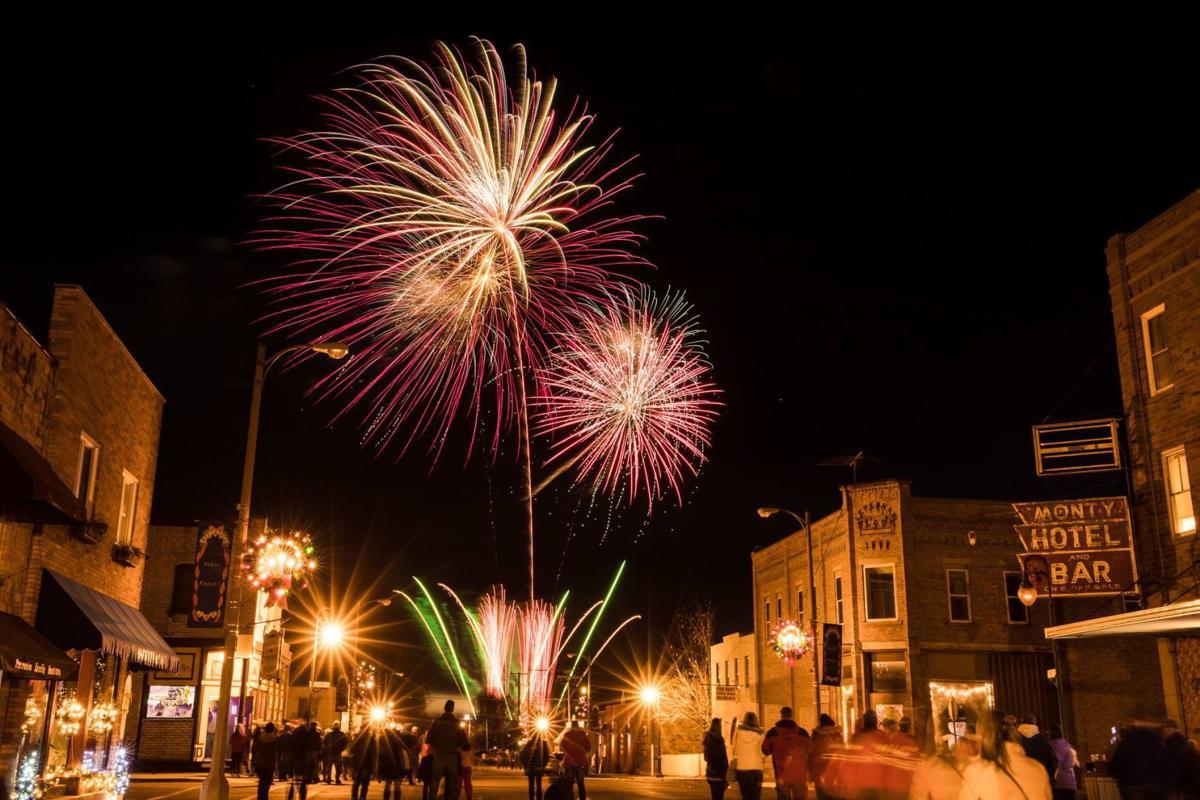 Montgomery Torchlight Parade fireworks
