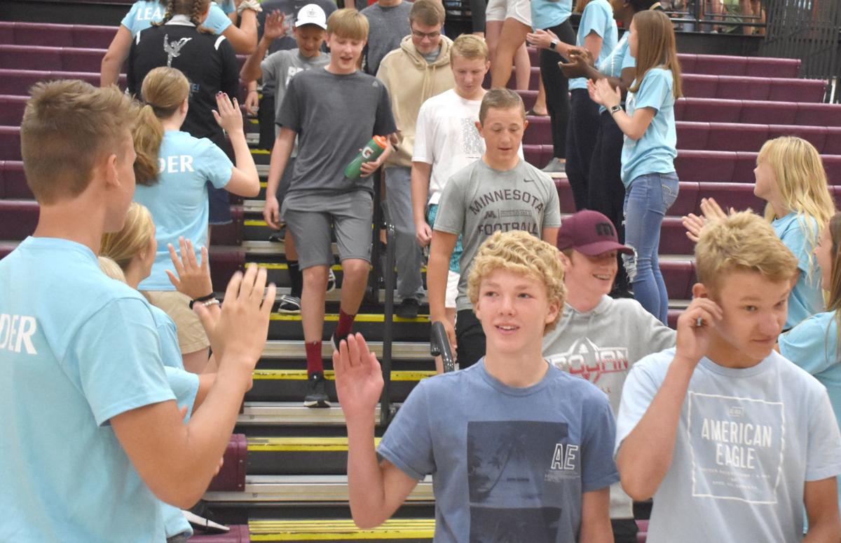 NPHS Upperclassmen ease freshmen's transition into high school