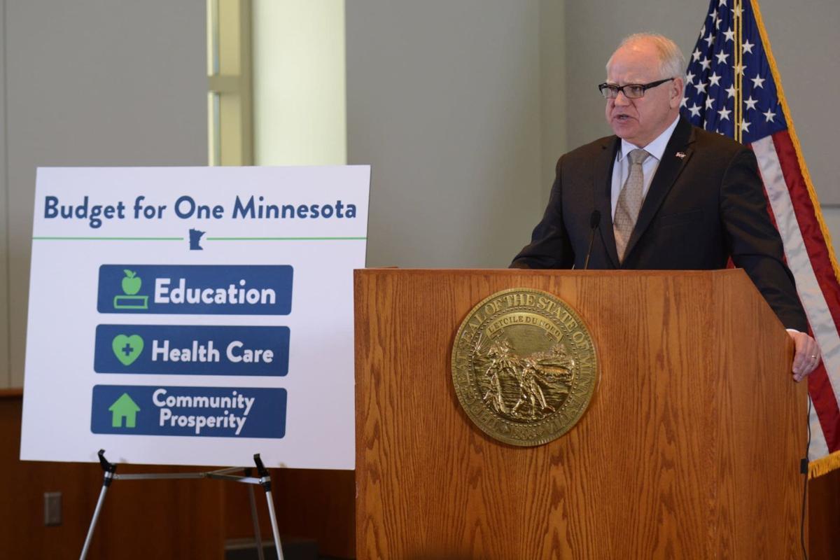 Walz two-year budget directs plenty to Greater Minnesota