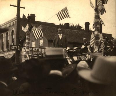 Nicollet County Historical Society Photo - October 2020 - William Jennings Bryan