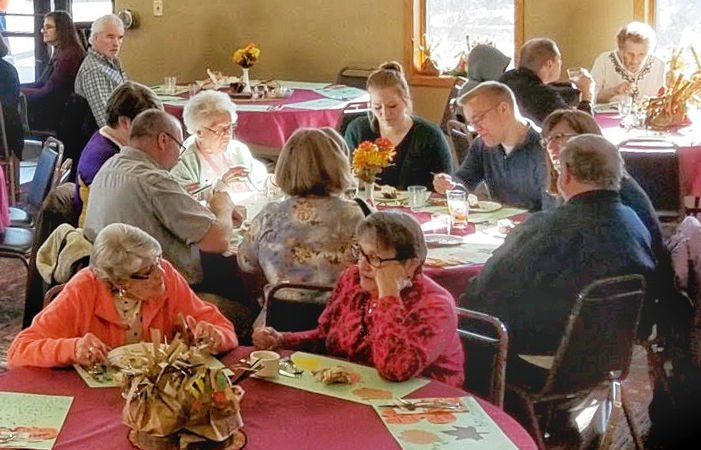 Volunteering a Thanksgiving tradition at Trondhjem Church