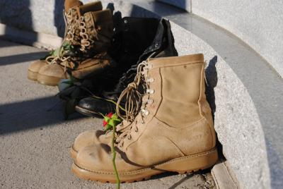 A pair of boots for each suicide