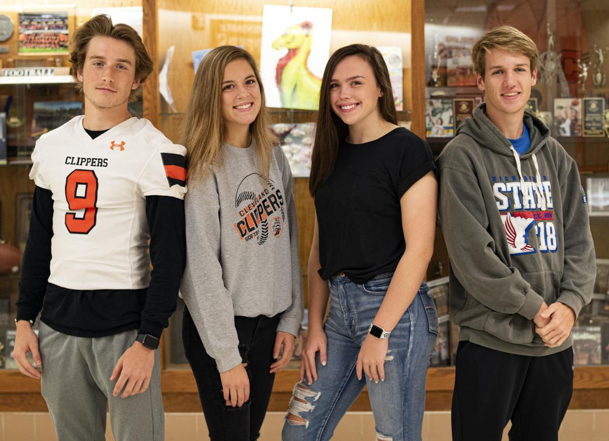 Shook, McCabe, Robb, Peterson are CHS State High School League award nominees