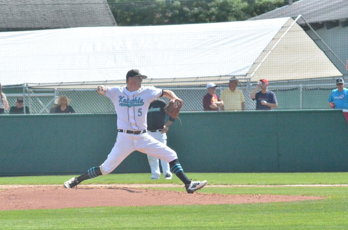 Knights score 4 in 8th to surge past Beaudreau's Saints in state tourney