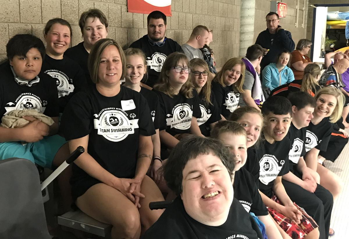 Seven TCU Special Olympic swimmers advance to state contest