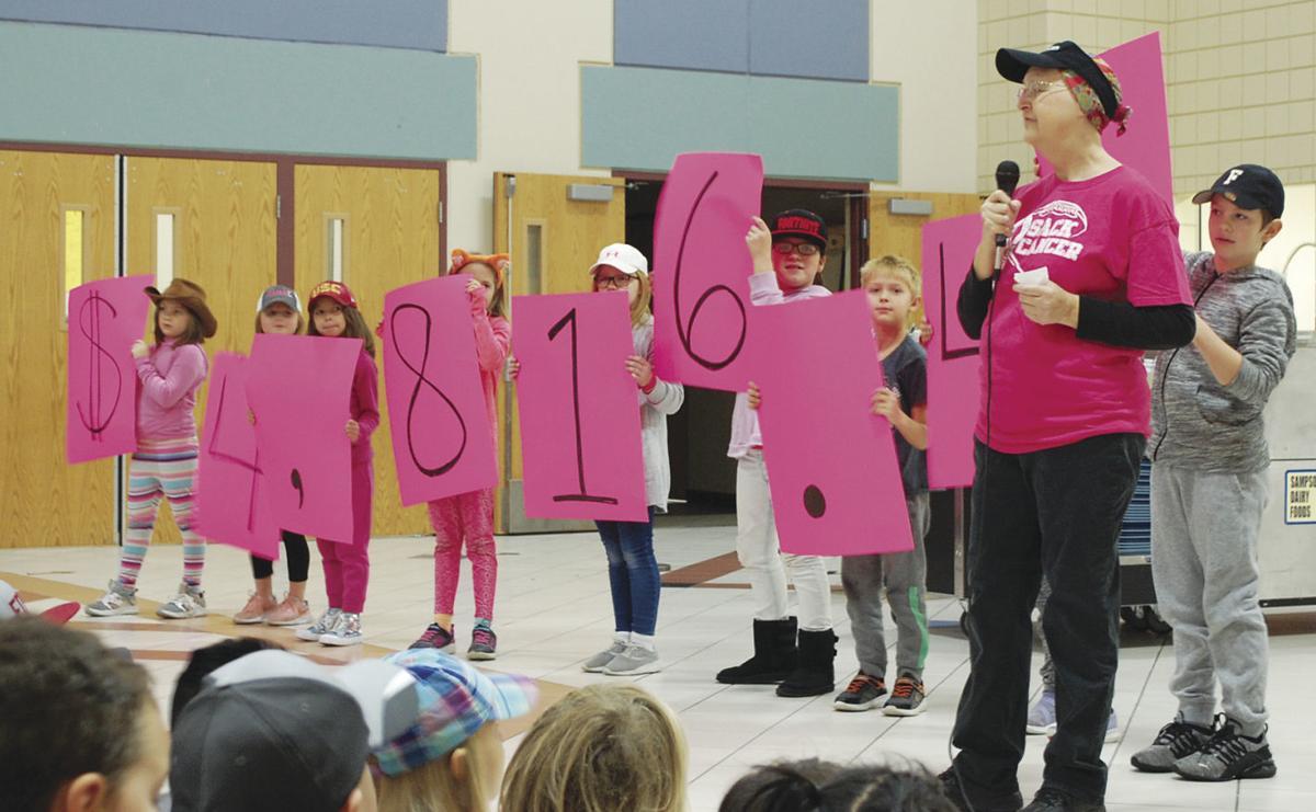 PINK OUT: Medford caps off fundraiser for beloved cook affected by cancer