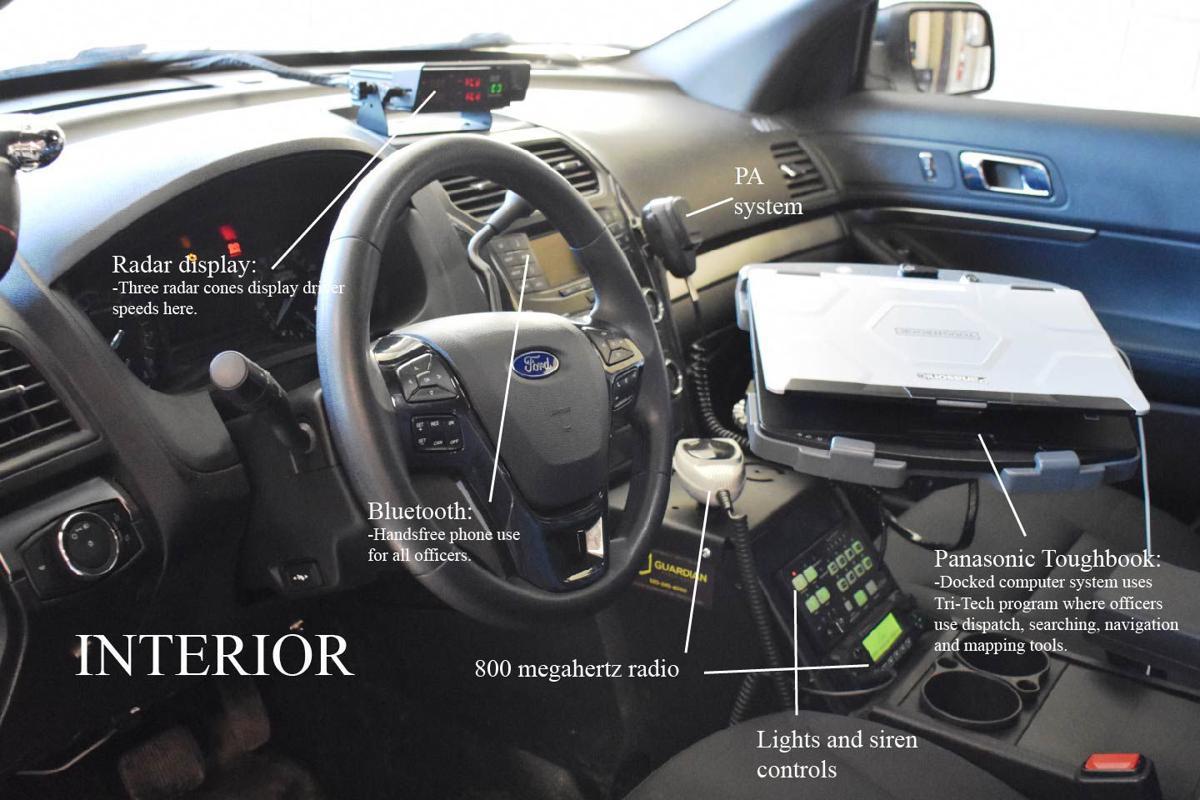 anatomy of a squad car take a peek inside faribault pd s modern