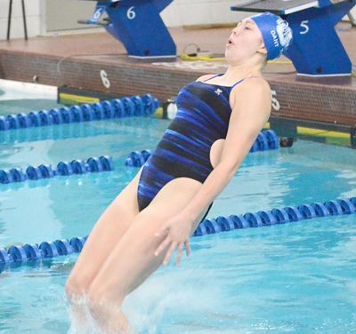 Owatonna wraps home season with senior night at OMS pool   Sports