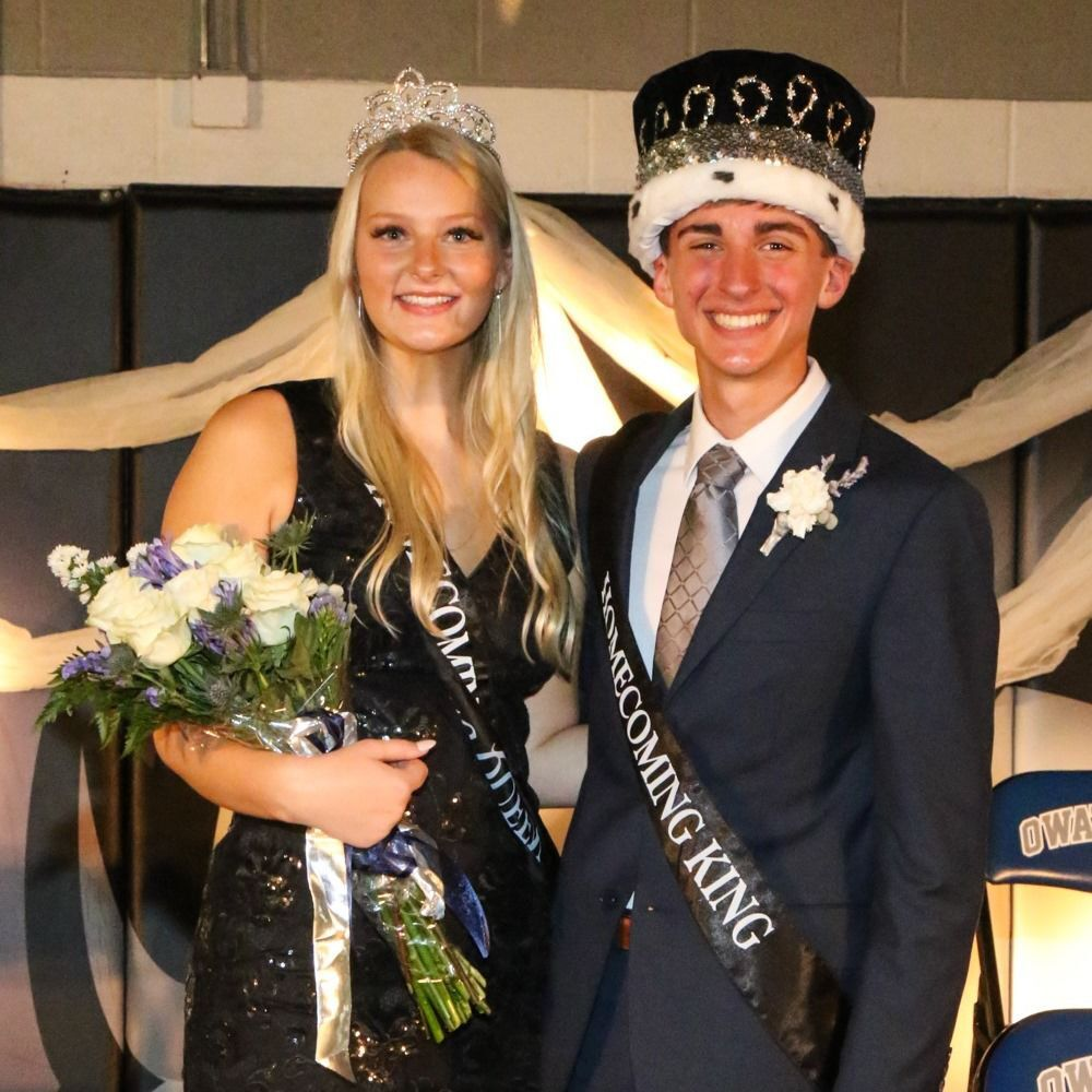 2021 OHS Homecoming King and Queen