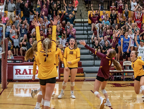 Northfield volleyball 2019 New Prague