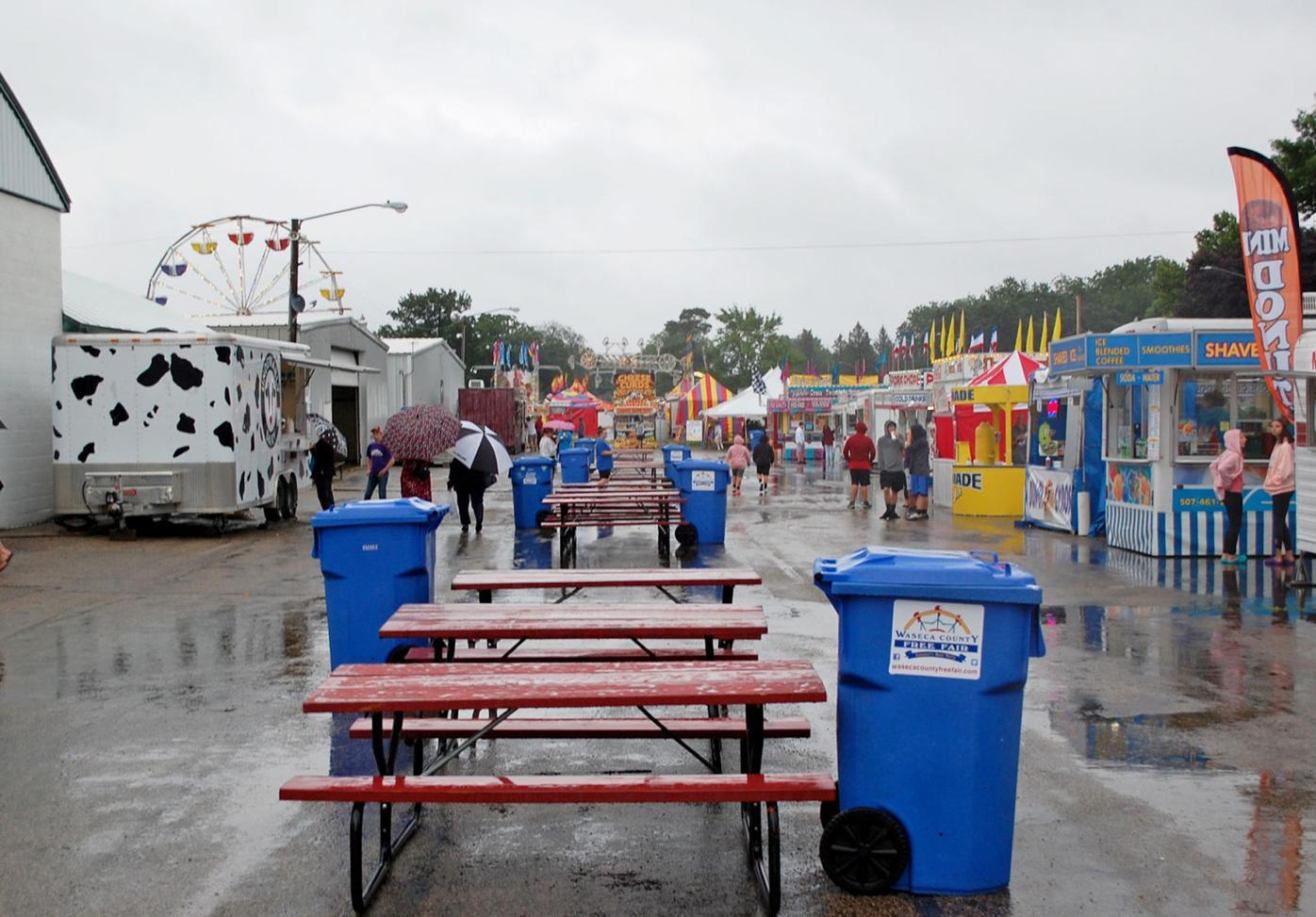 Rain on opening day