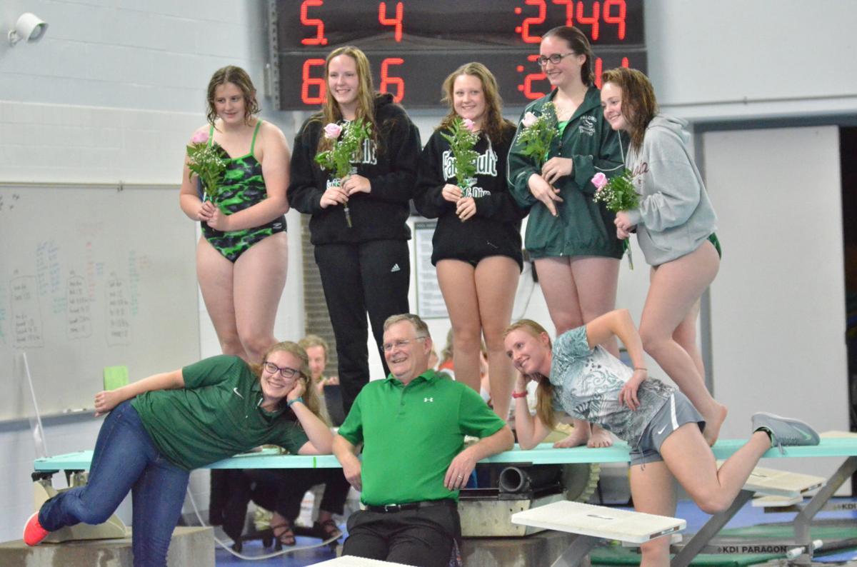 Faribault girls swim and dive seniors