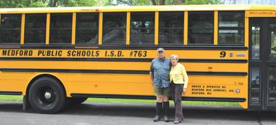 Medford bus drivers retire