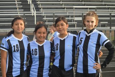 TCU Girls Soccer Team Captains