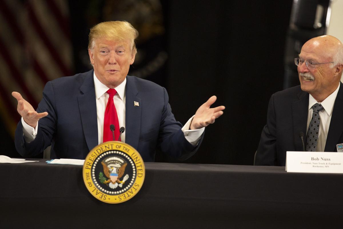 Trump in Minnesota