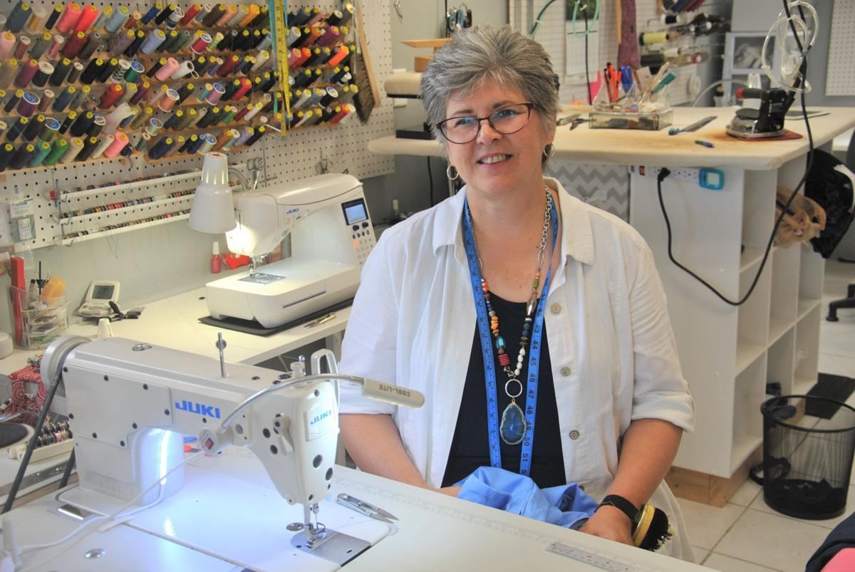 Lisa Emery making a career out of her passion — sewing