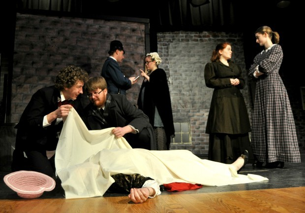 A night of mystery and suspense at St. Peter High School