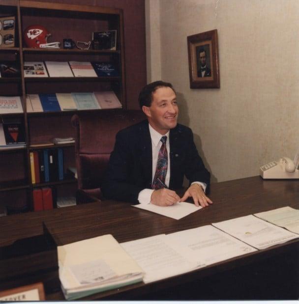 Stover in 1999