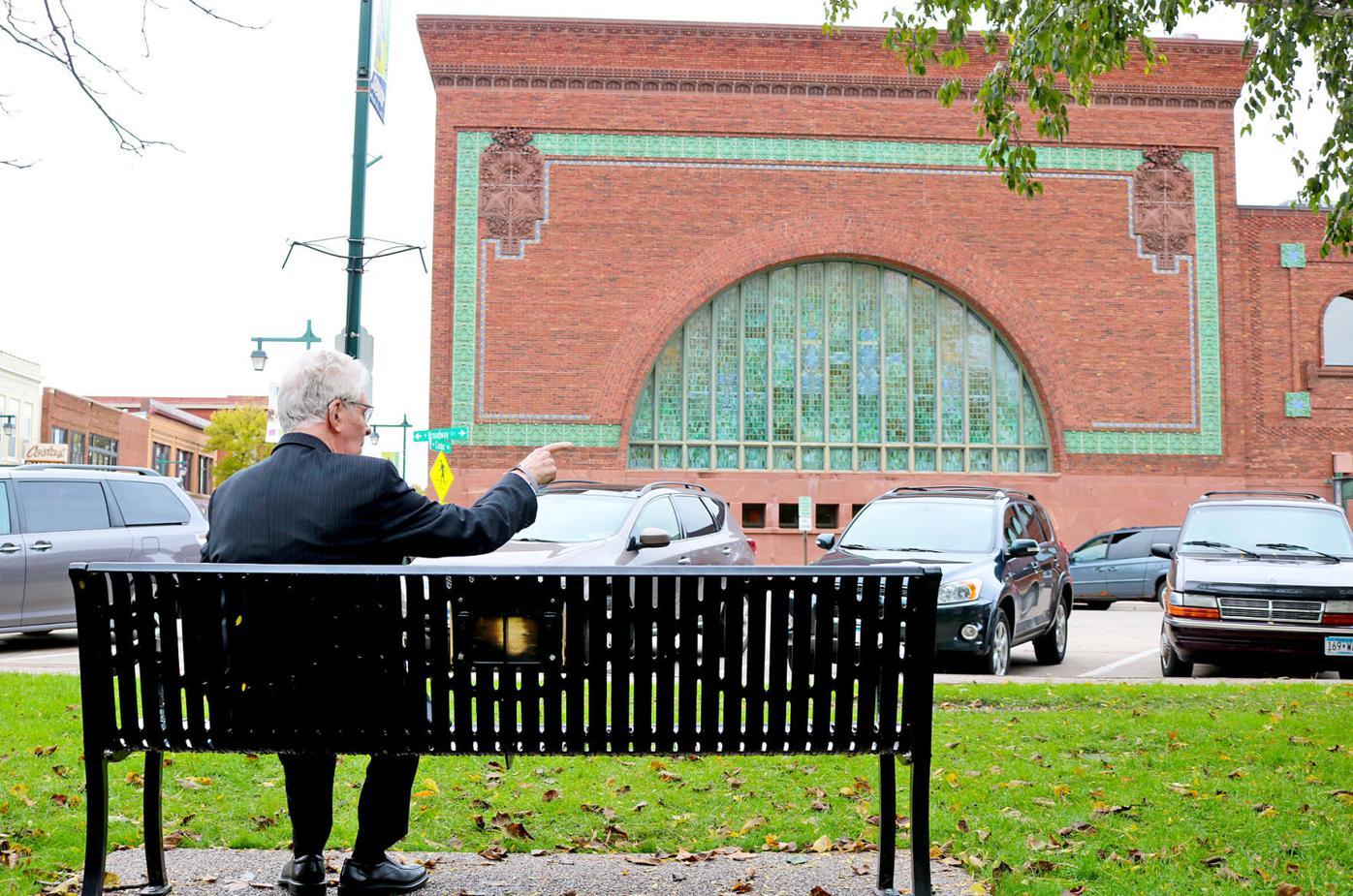 Ken Wilcox bench bank