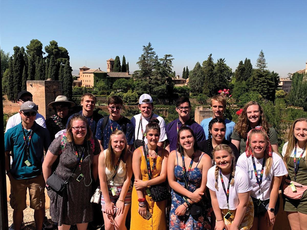 Medford students explore Spain