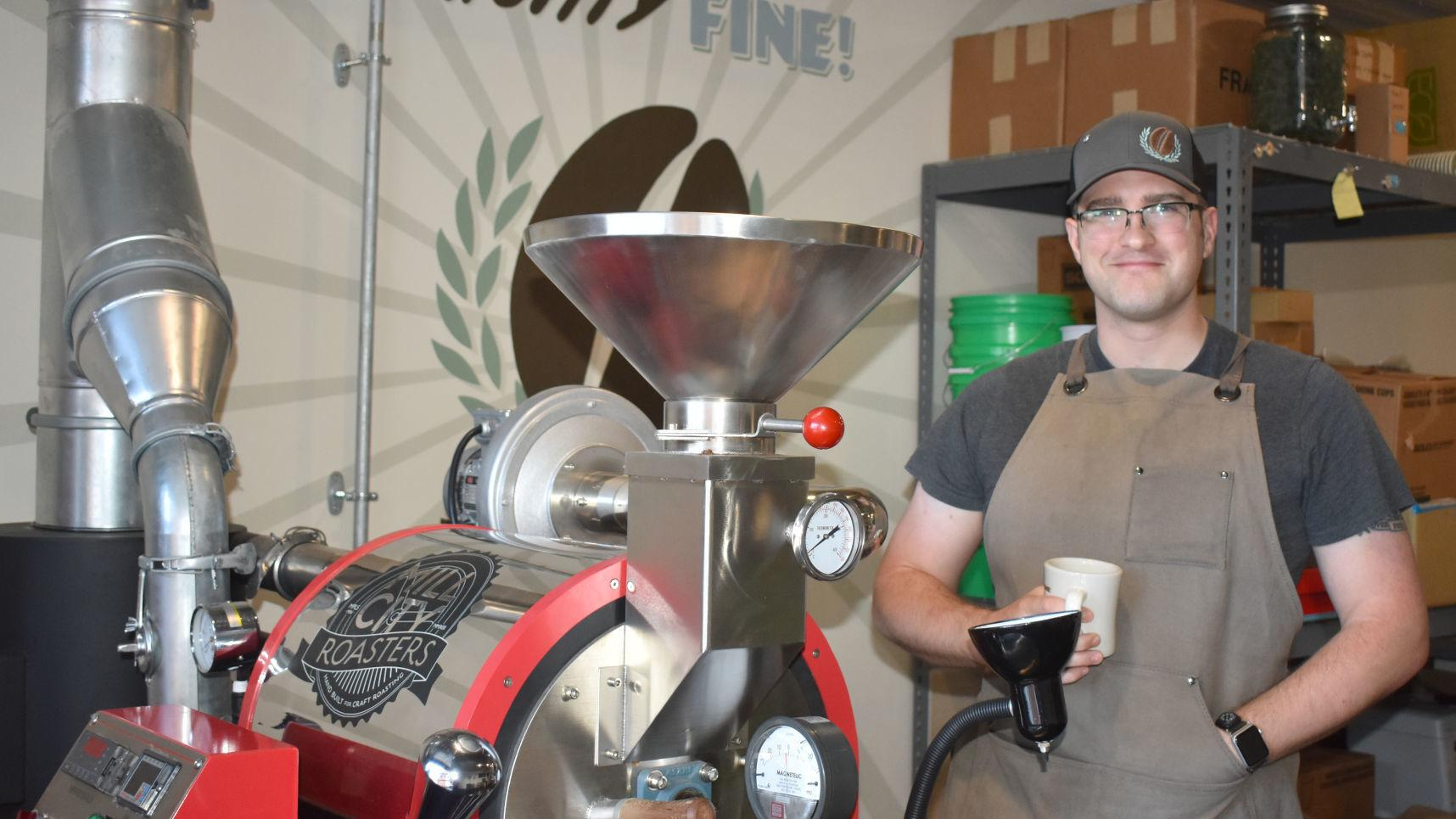 Faribault coffee roastery gives 'mighty fine' new flavor to community