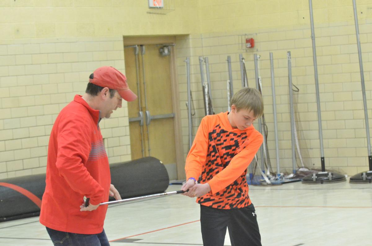 K-W golf teams make the most of early season practice