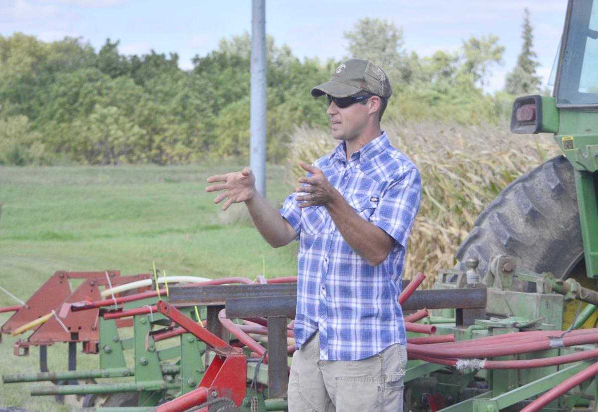 Seven Mile Creek Watershed farmers share experiments in cover crops