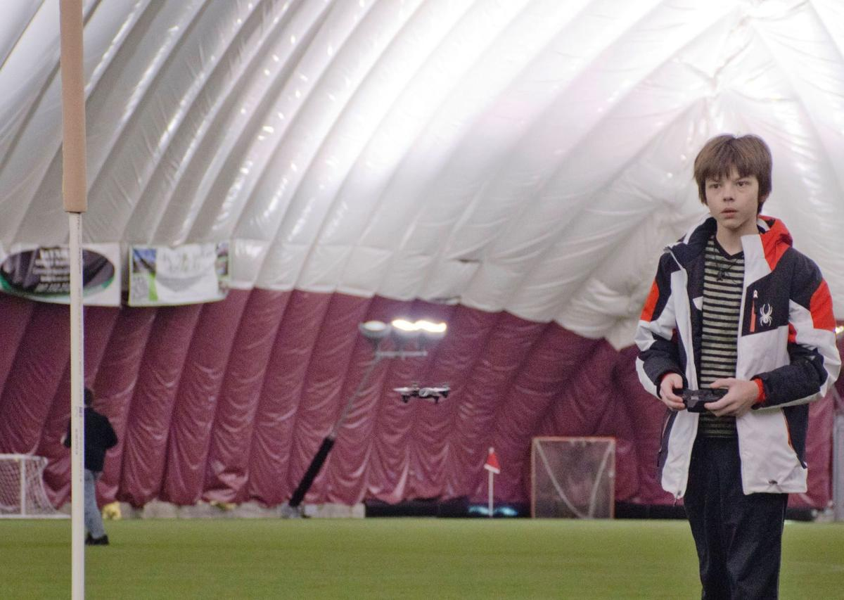 Drones at the dome: Shattuck hosts Flight Night for pilots, would-be aviators