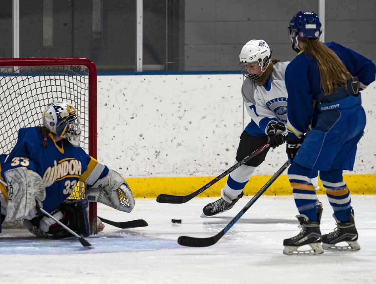 Olness hat trick lifts Bulldogs over visiting Windom