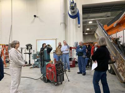 Kiwanis Club of Owatonna tours Public Works building