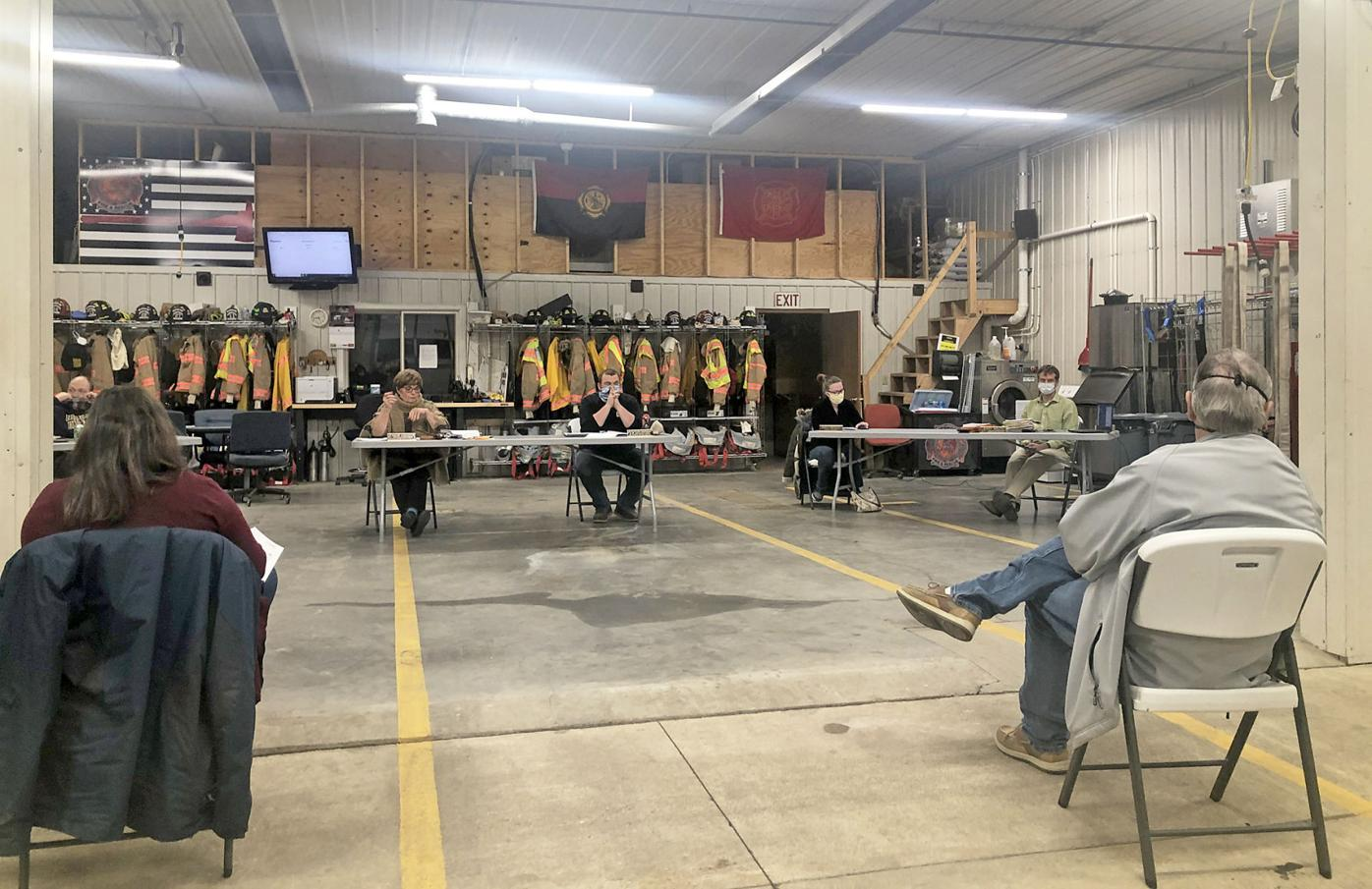 Medford Fire Hall Meeting