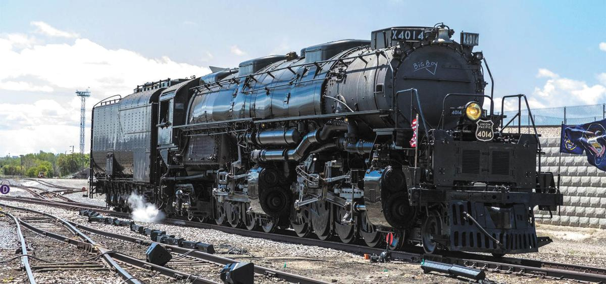 Big Boy Steam Locomotive Stops In Owatonna Northfield