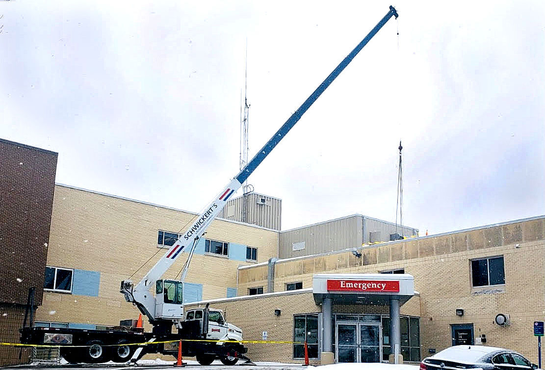 Mayo Clinic Waseca infrastructure project