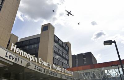 Virus Outbreak Minnesota Flyover
