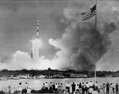 Apollo 13 Takes Off 1970