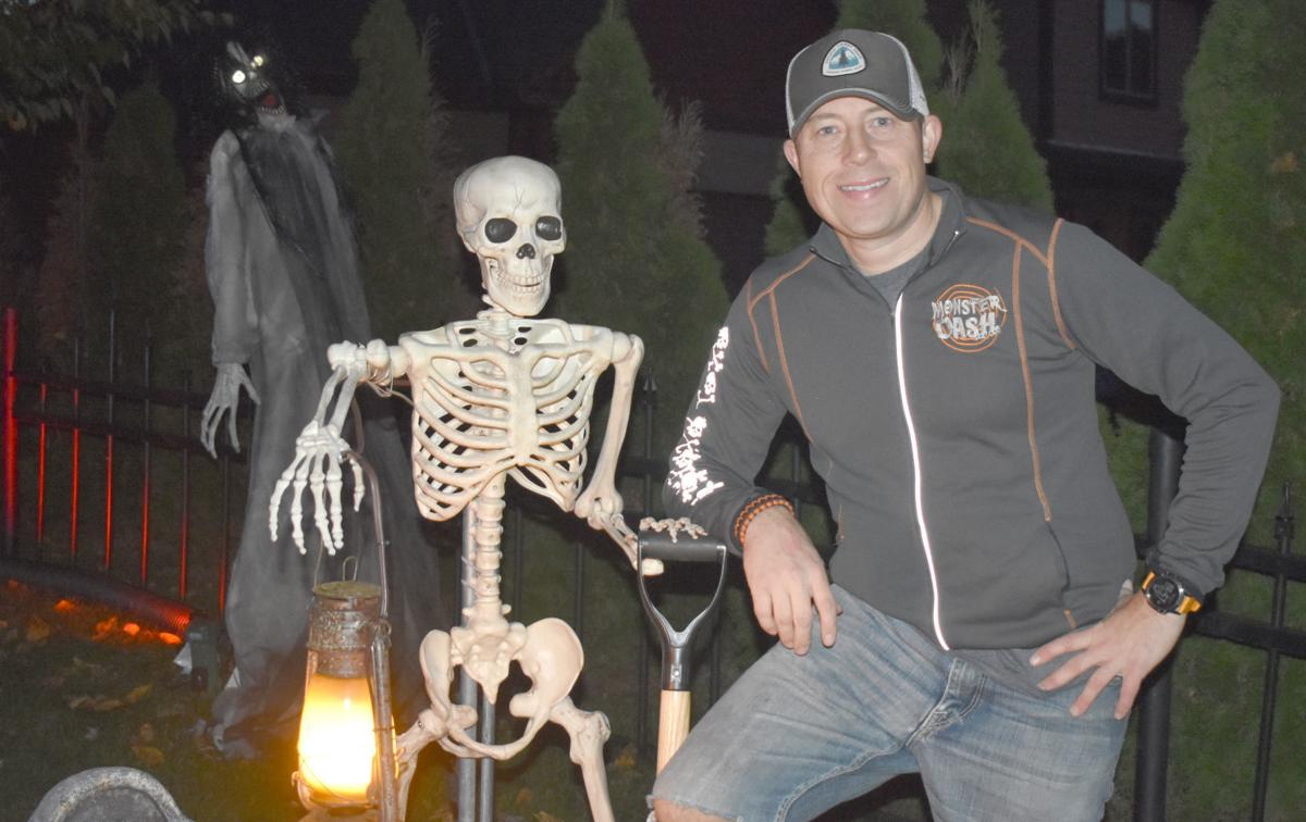 GALLERY: Residents transform their property into haunted graveyard