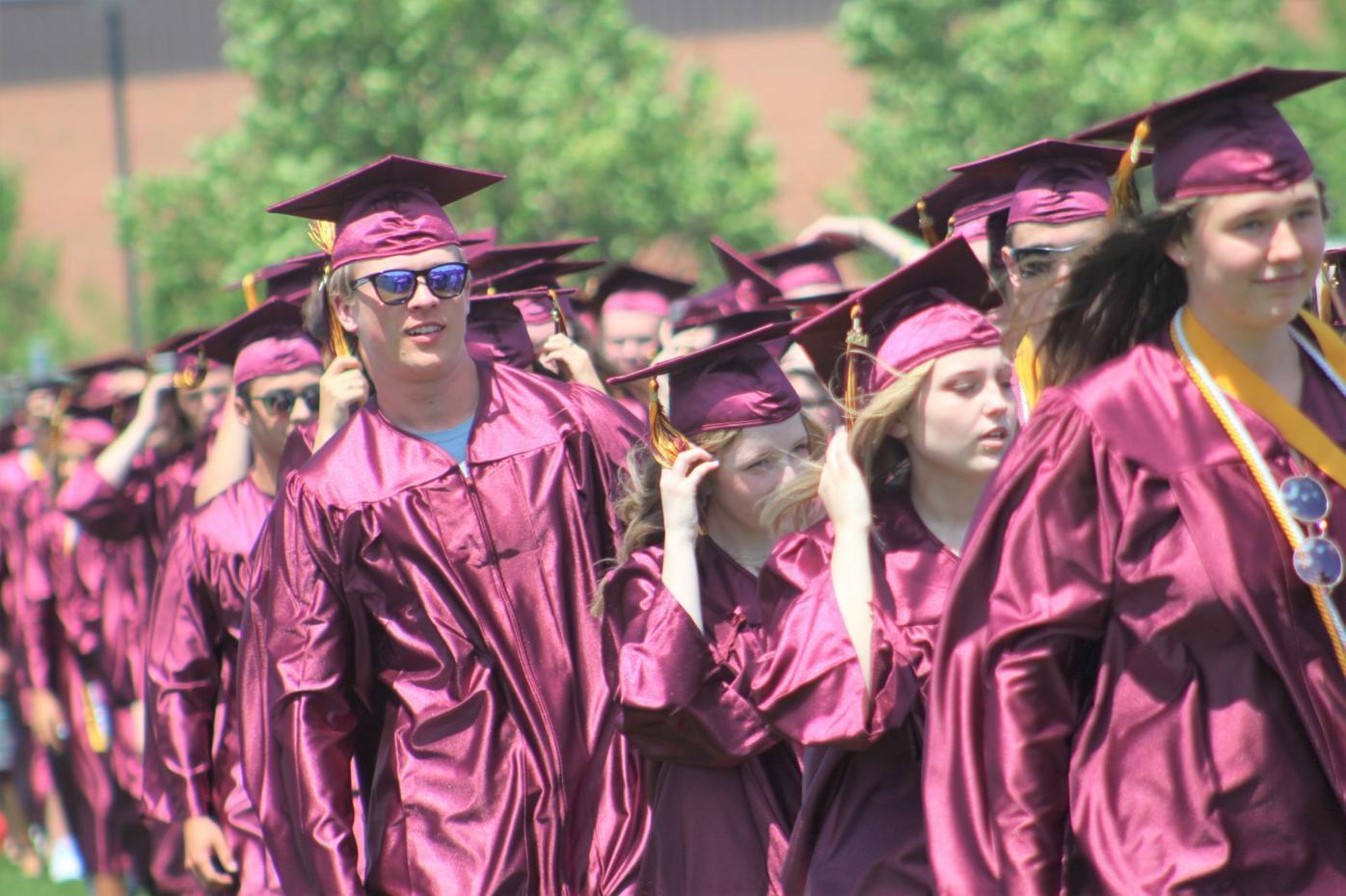 Northfield High School graduation 1