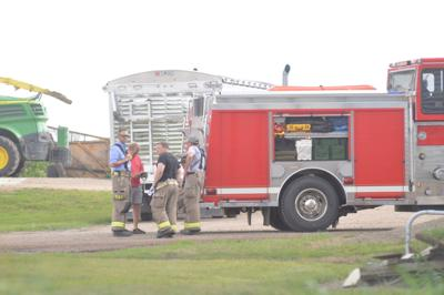 Fire department farming accident