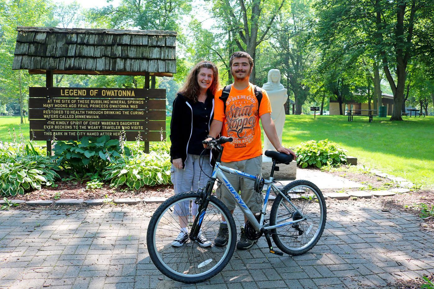 Sarah and Mason at Mineral Springs