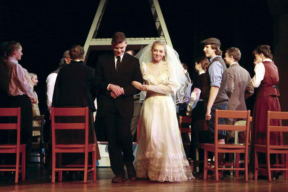 Coming to 'Town': Owatonna students embrace life's difficult moments, daily joys in weekend performance of 'Our Town'