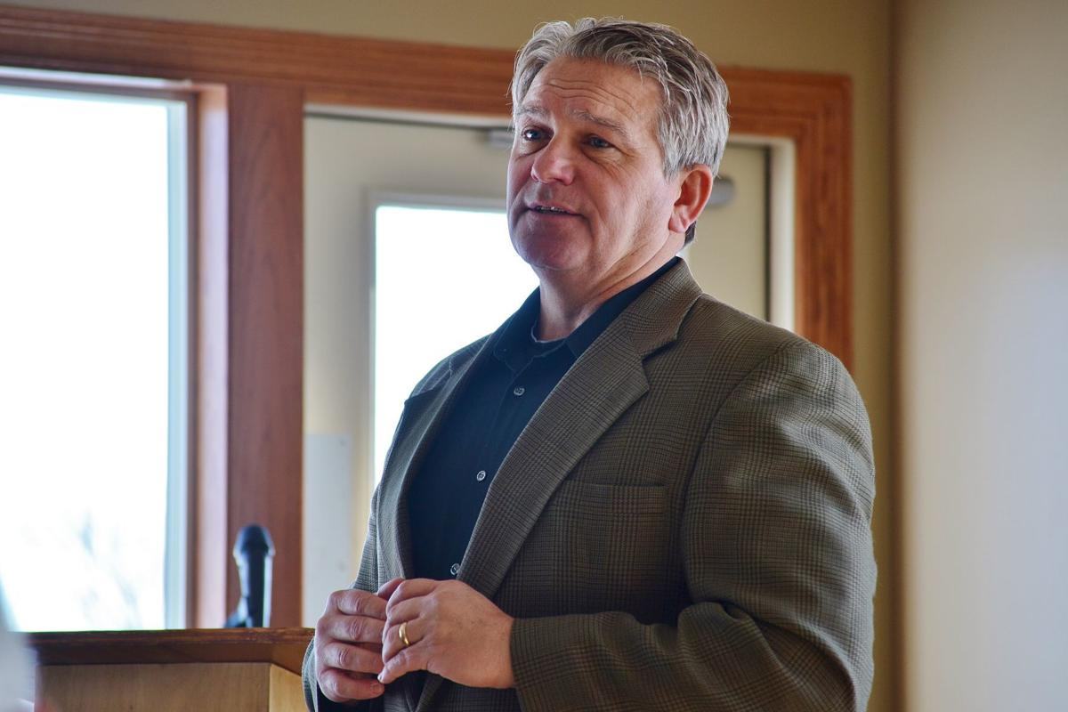 MSU head football Coach Hoffner speaks at Rotary on coaching and life lessons