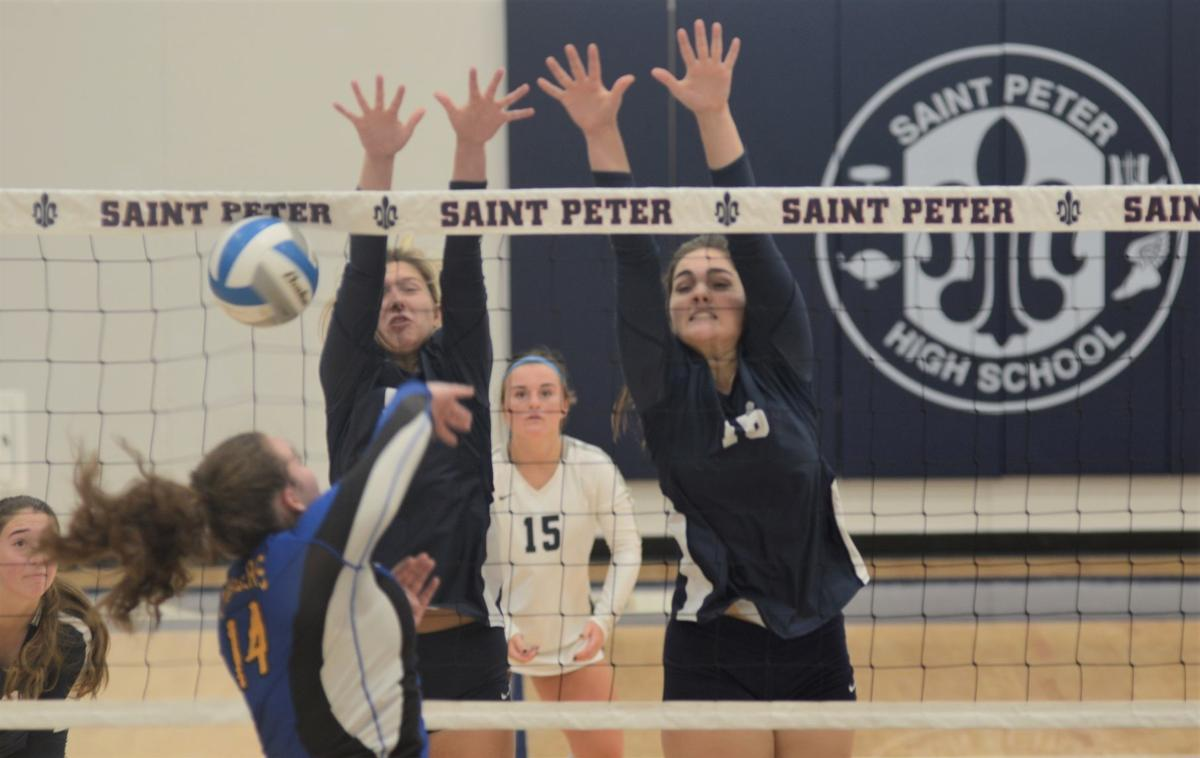 Saints reach semis in home tournament Saturday; beat Waseca Tuesday