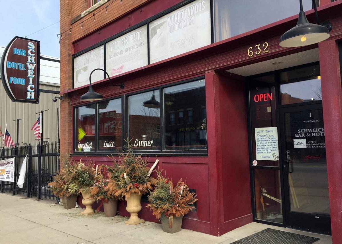 Schweich's Bar & Hotel in Kenyon closes doors