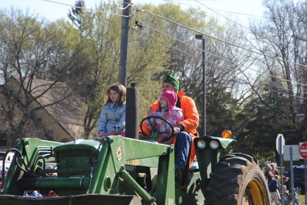 Tractor Parade - young driver