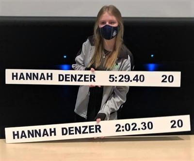 Swim Hannah Denzer records.JPG