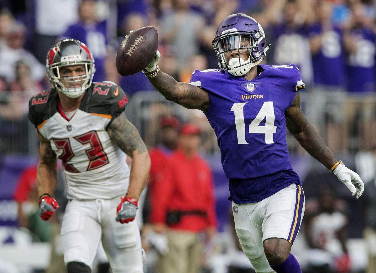 Vikings Stefon Diggs Adam Thielen have be e NFL s top WR duo