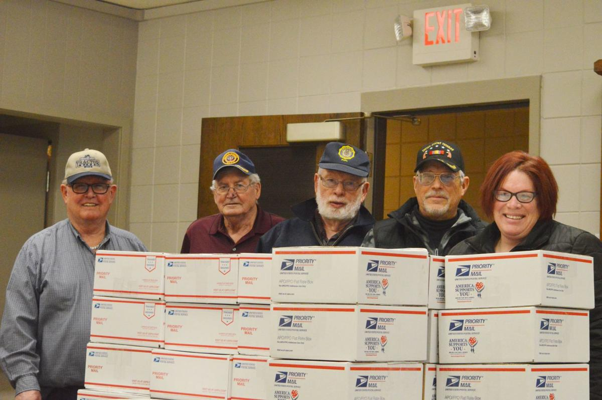 Local veterans send Christmas packages to LS-H grads overseas