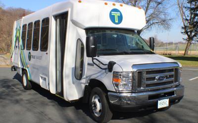 TRUE Transit bus
