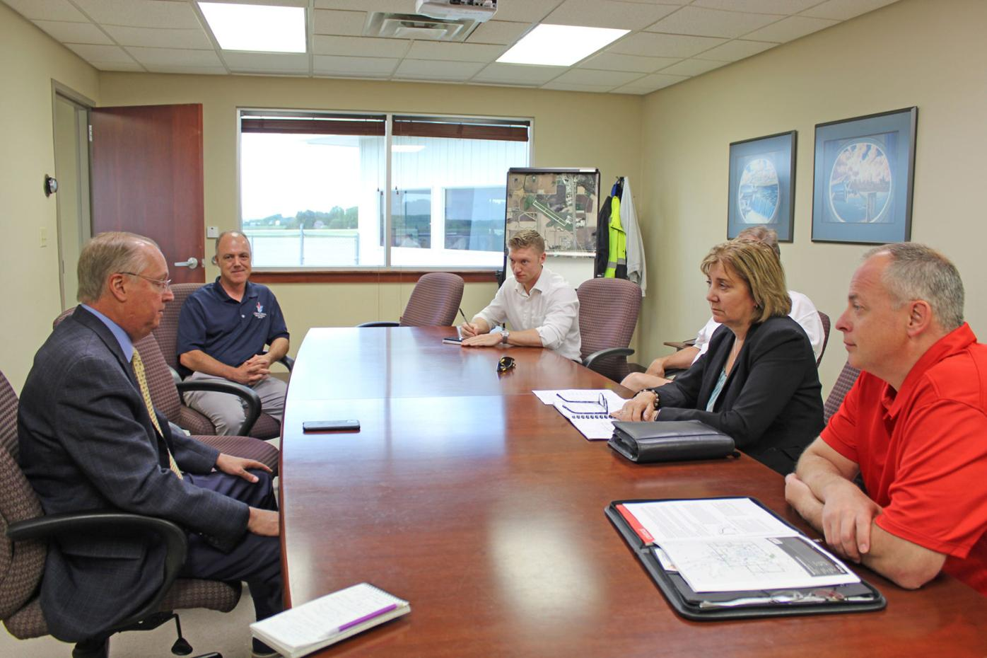 Hagedorn discusses federal funding for Owatonna airport 2