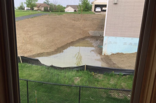 Responsibility for Deerview Ct. drainage conflict shifts to builders
